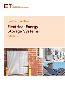 Code of Practice Electrical Energy Storage Systems front cover image